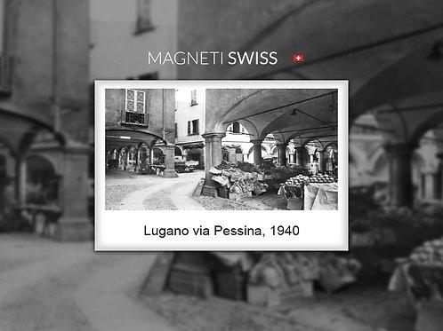 Lugano via Pessina, 1940