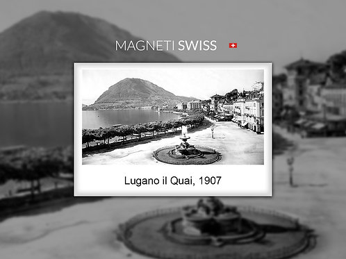 Lugano il Quai, 1907
