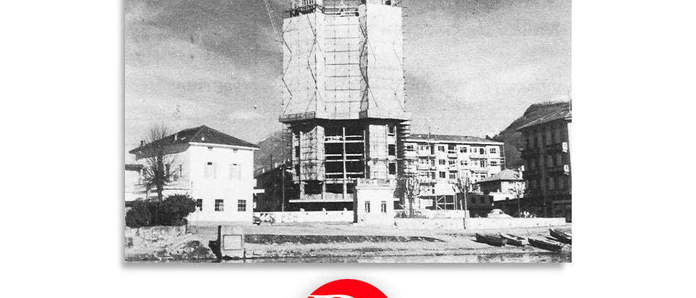 casa Torre in costruzione 1954