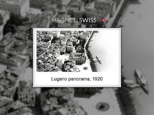 Lugano panorama, 1920