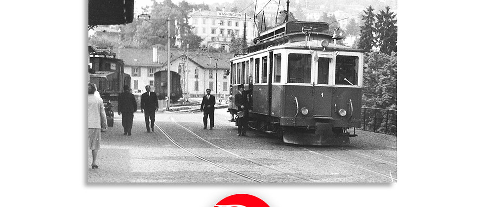Tram Lugano - Cassarate 1965