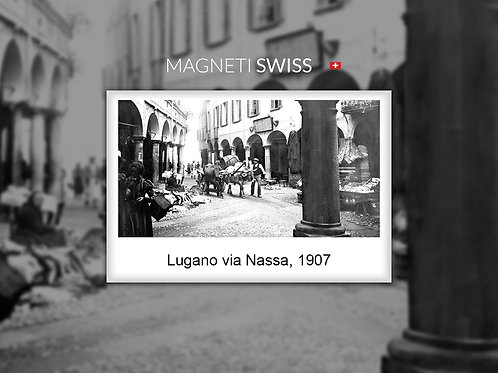 Lugano via Nassa, 1907