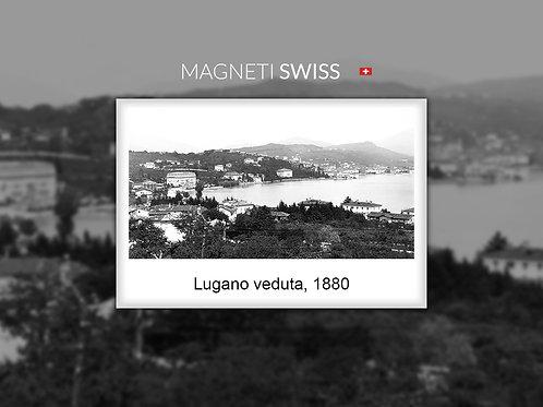 Lugano veduta, 1880