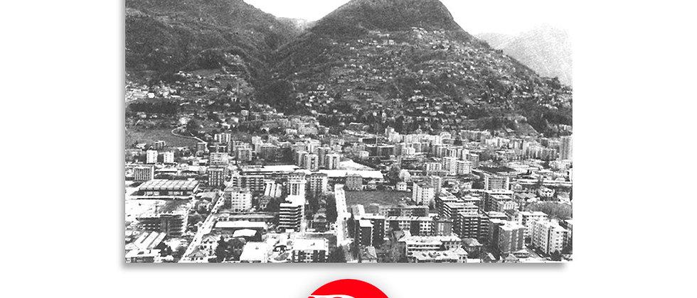 Panorama Lugano e monte Brè