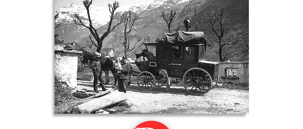Diligenza persone Val Verzasca, 1930