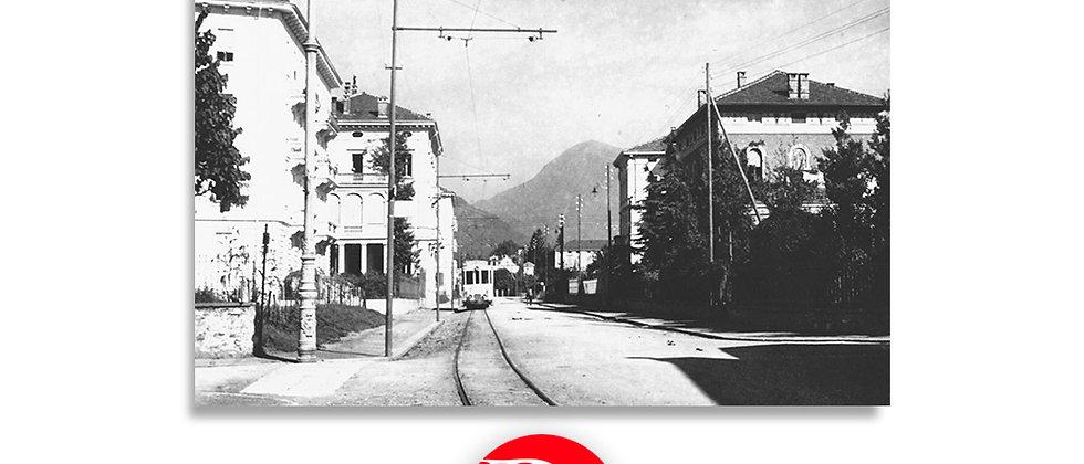 Lugano - Corso Elvezia verso la Madonnetta