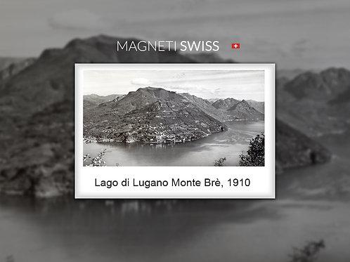 Lago di Lugano Monte Brè, 1910