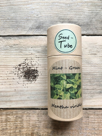Seed Tube Herbs - Mint Green