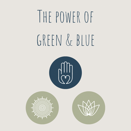 The Power of Green & Blue