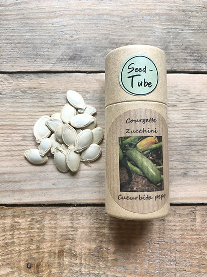 Seed Tube Vegetables - Courgette Zucchini