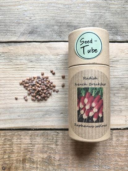 Seed Tube Vegetables - Radish French Breakfast