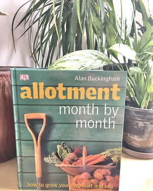 ALLOTMENT MONTH BY MONTH BY ALAN BUCKING