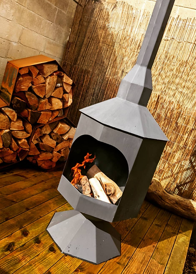 Diablo Outdoor Fireplace