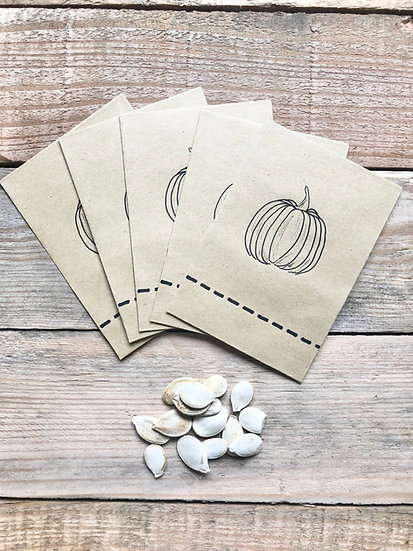 Pumpkin Seed Collection Packets