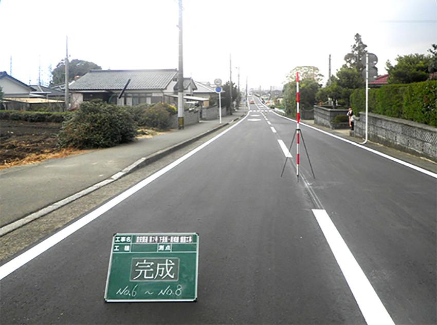 防安関連 第7号 下長飯・姫城線 舗装工事