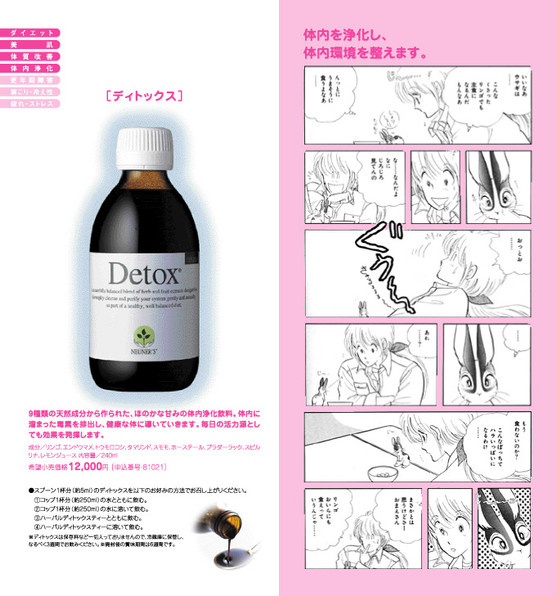DETOX パンフレット