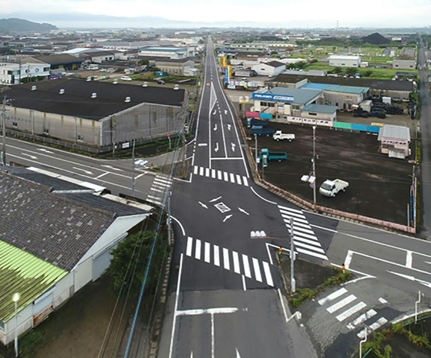 防安関連 第1号 神之山・高木線 舗装工事