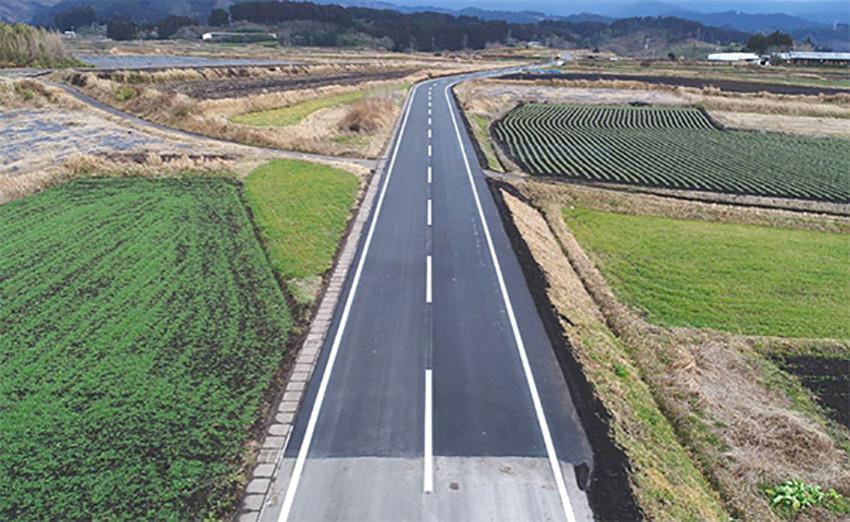 道適 第1号 下原田乗峯線 舗装補修工事