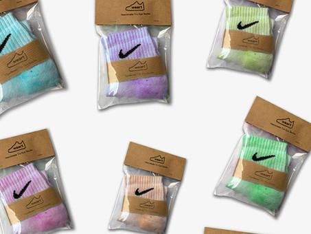 Tie Dye Socksの販売数が「500足」を突破