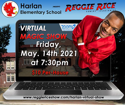 RR Virtual Magic Show Harlan Elm School.
