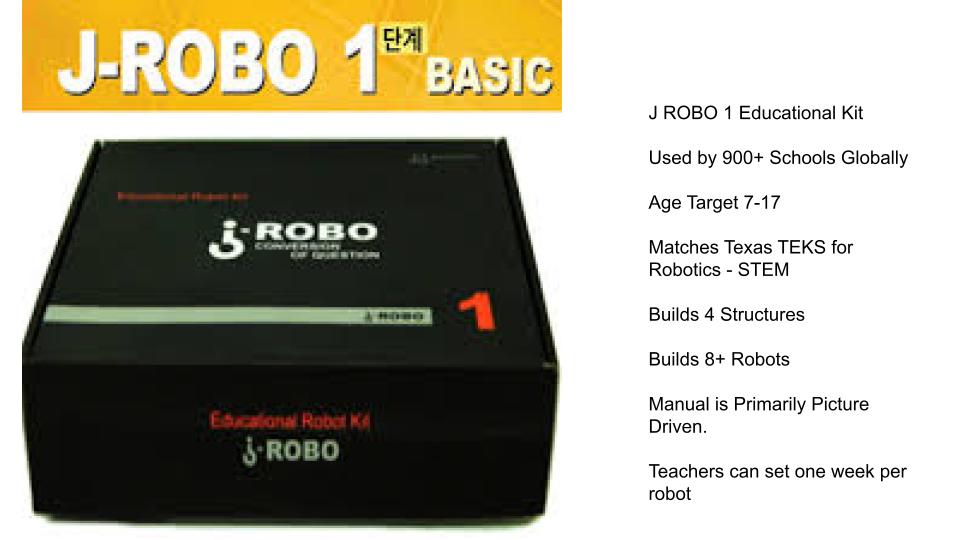 J ROBO 1 Educational Robot
