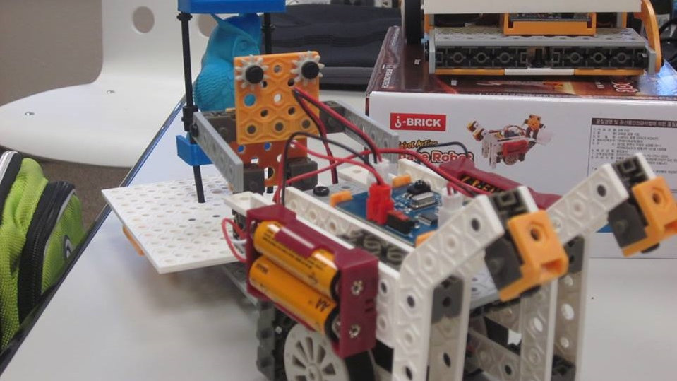 J ROBO 2 - Educational Robotics KIT - Extension for Schools
