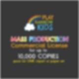 Play Rainbow Kids License Mass Productio