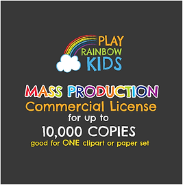 Play Rainbow Kids License Mass Productio