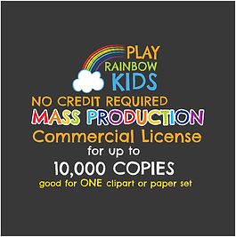Play Rainbow Kids License NCR Mass Produ