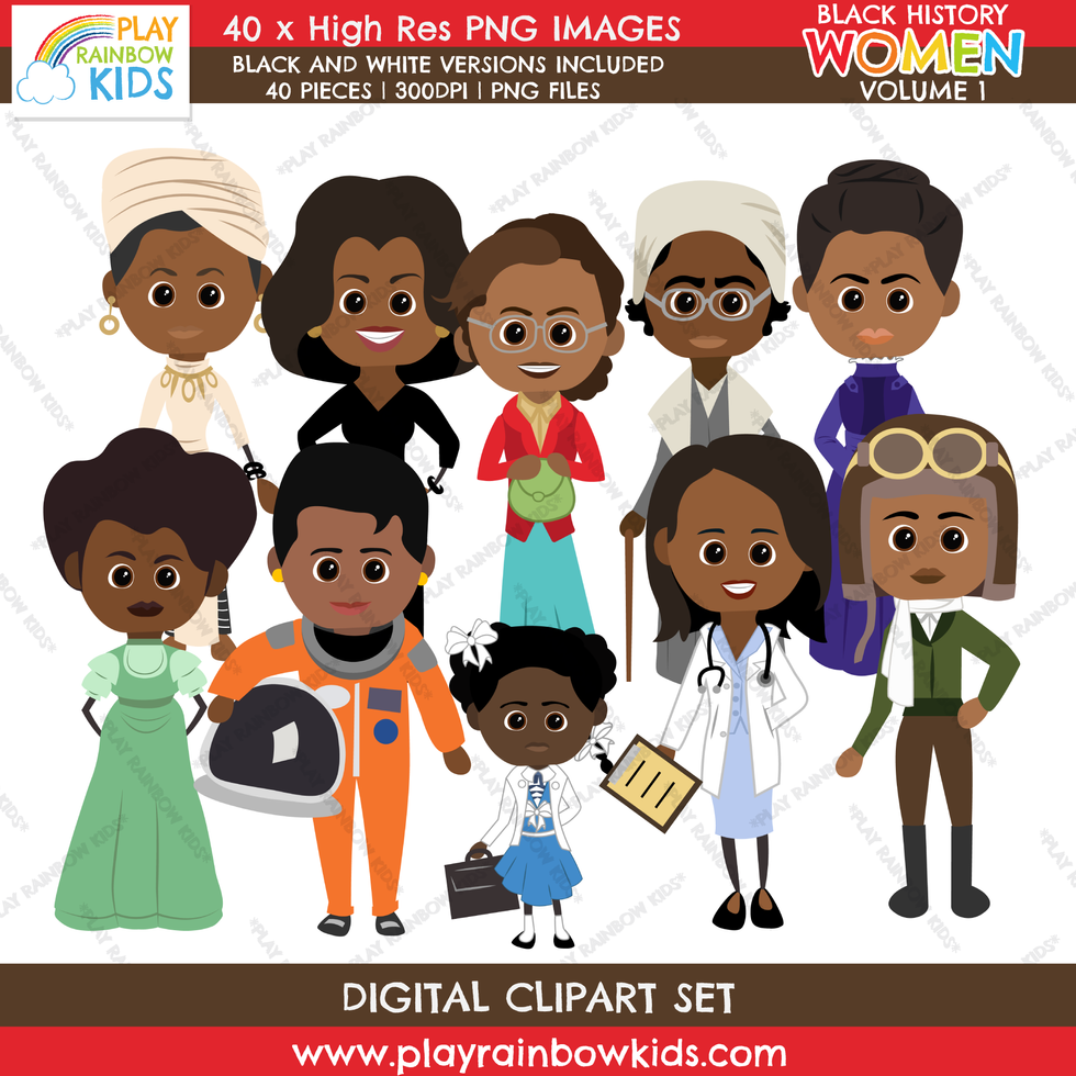 Play Rainbow Kids Black History Women Volume 1