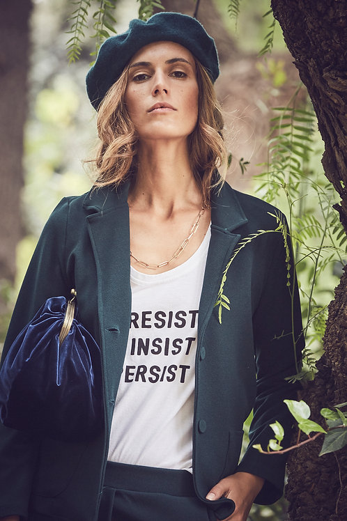 Camiseta Resist Blanca