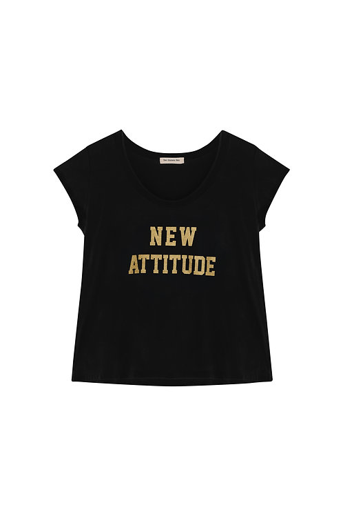 Camiseta New Attitude Negra