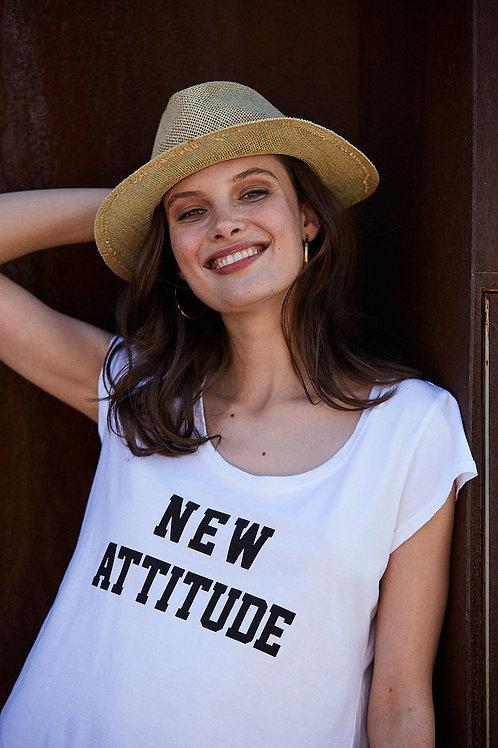 Camiseta New Attitude Blanca