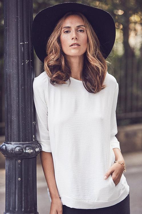 Blusa Alícia Blanca