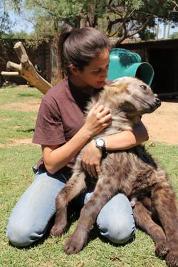 Flowing pic Sandra hyena