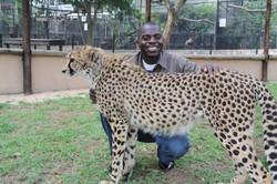 Flowing pic Amos with Cheetah