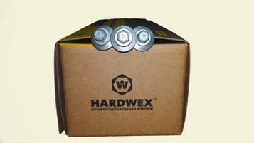 Коробка с саморезами для сэндвич панелей Hardwex