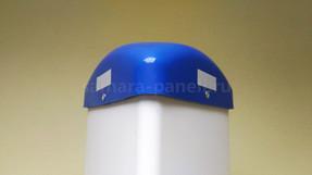 Пластиковый колпак на треугольном сторбе ПВХ Транснефть