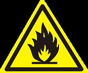 знак огнеопасно