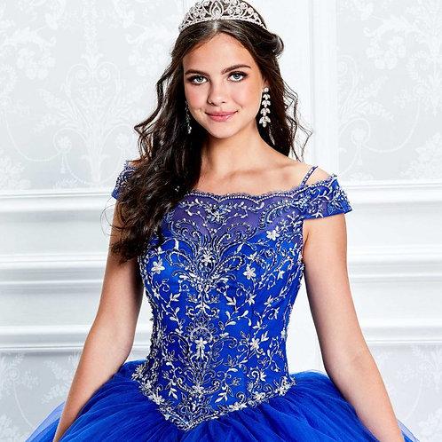 Princesa Off The Shoulder Beaded Dress