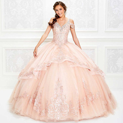 Princesa Beaded Ball Gown