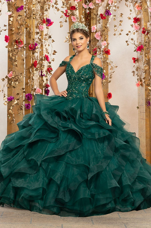 copy of Quinceañera dress 89226 Emerald Green