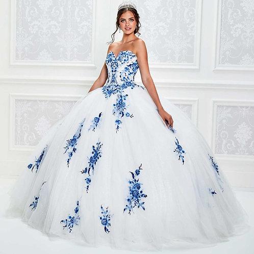 Princesa Strapless Ball Gown