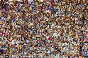 Many / multiple padlocks