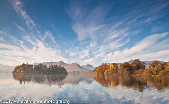 Landscape photography - Autumn Colours - Derwent Water, Lake District, Cumbria
