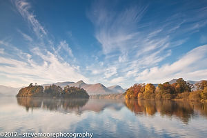 Landscape Photography, Autumn Colours, Derwent Water, Lake District, Keswick, Cumbria
