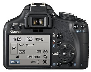 Canon 500D camera dslr