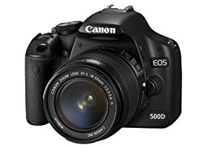 canon camera 500D dslr