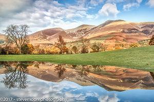 Landscape photography - Skiddaw Reflections, Skiddaw, Keswick, Lake Disctrict, Cumbria