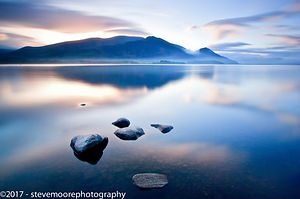 Landscape Photography - Dawn over Bassenthwaite, Lake District, Cumbria